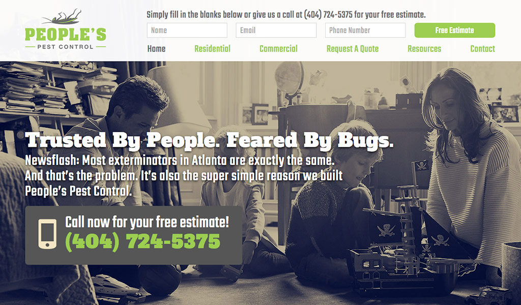 Peoples Pest Homepage